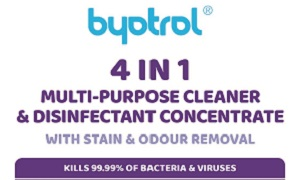 BYOTROL 4in1 Multi-Purpose Surface Disinfectant Cleaner