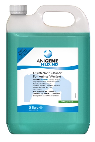 ANIGENE HLD4ND DISINFECTANT for ANIMAL WELFARE