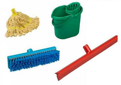 Colour Coded Cleaning Equipment