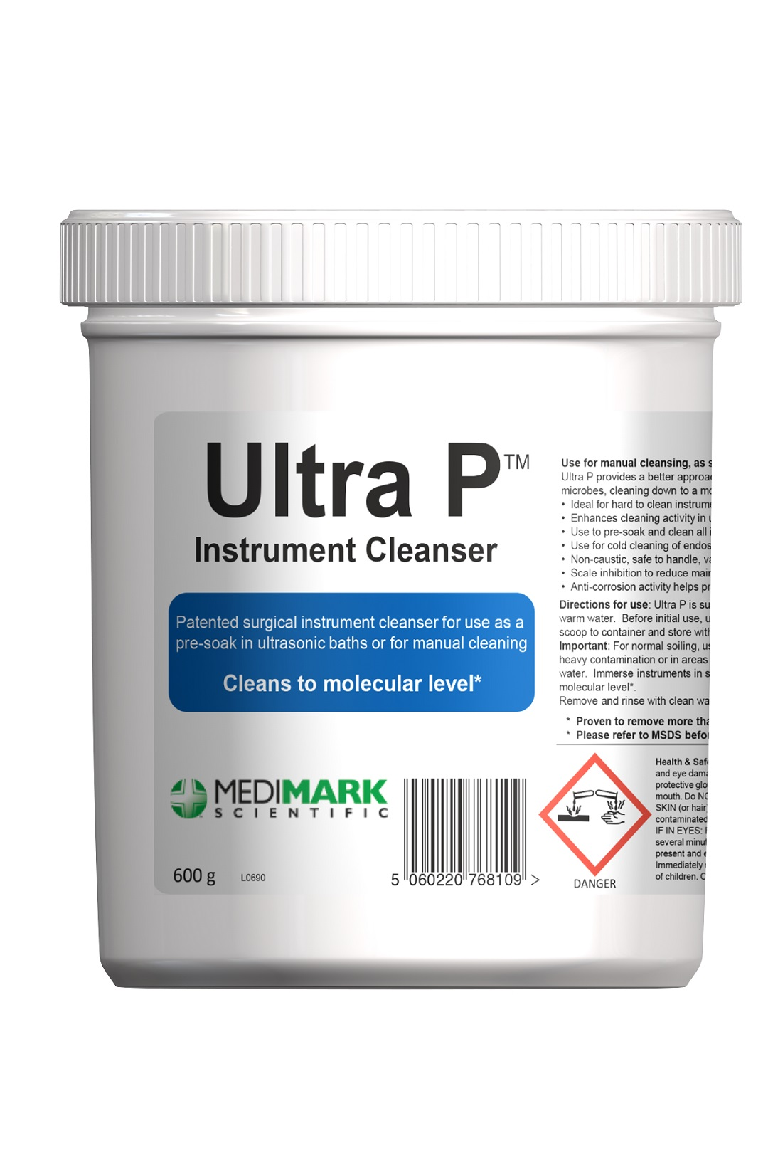 ULTRA P Instrument Cleaner