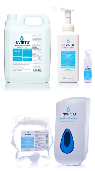 INVIRTU Alcohol Free Hand Sanitiser